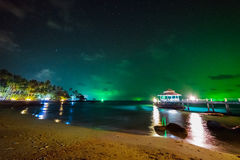 Night island Koh Kood. Thailand Stock Photo