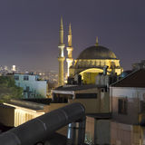 Night Istanbul skyline Royalty Free Stock Images