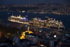 Night Istanbul Stock Photos