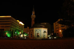 Night in Izmir. Stock Photo