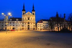 Night Jihlava Stock Photos