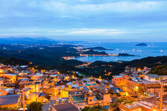 A night in Jiufen Royalty Free Stock Photography
