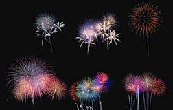 Night of July 4. Stock Image
