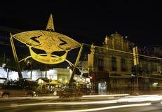 Night at Kasturi walk, central market Royalty Free Stock Images