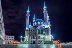 Night Kazan. A quiet summer night in the city Royalty Free Stock Photography