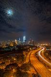Night KL Stock Photography