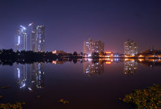 Night in Kolkata Royalty Free Stock Photo