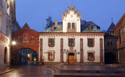 Night Krakow Stock Photo