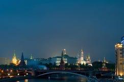 Night Kremlin Stock Photography