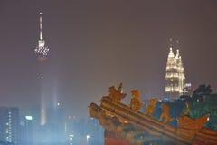 Night in Kuala Lumpur Stock Photos