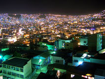 Night in La Paz Royalty Free Stock Image