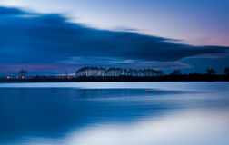 Night on the Lake Stock Photography