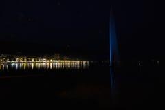 Night lake Stock Photo