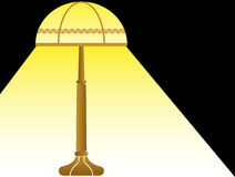 Night lamp. Simple illustration of night lamp Stock Photo