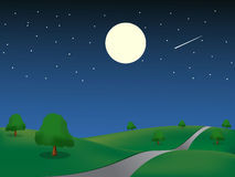 Night_landscape Royalty Free Stock Photos