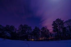 Night landscape royalty free stock image