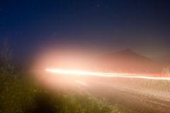Night landscape Stock Photo