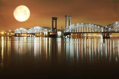 Night landscape Stock Image