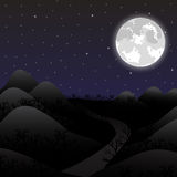 Night landscape Royalty Free Stock Photography