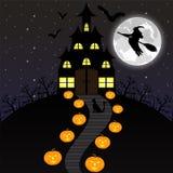 Night landscape on Halloween.  Stock Photography