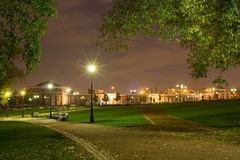 Night landscape in Tsaritsyno Stock Images