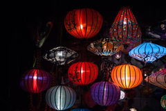 Night lanterns in old Hoi An town Stock Photography