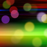 Night life. Color background with color spots Royalty Free Stock Photos