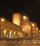 Night life in Bologna Royalty Free Stock Images