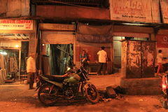 Night life of Dharavi Stock Images