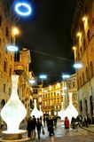 Night life in Florence, Italy Royalty Free Stock Photos