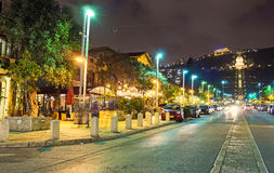 The night life of Haifa Royalty Free Stock Photography