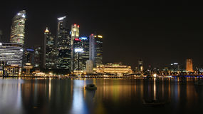 Night life in Singapore Royalty Free Stock Photos