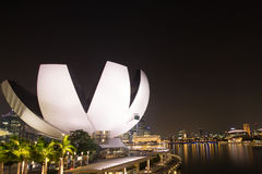 Night life in Singapore Stock Images