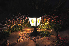 Night light. In the garden Stock Photo