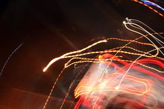 Abstract  light background on the move stock images