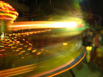 Night Light blurred Royalty Free Stock Image