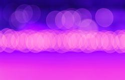 Night Light blurred background Stock Photography