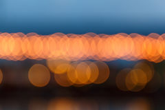 Night Light blurred background Stock Photos