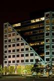 Night Light Building Royalty Free Stock Photos