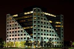 Night Light Building Stock Photography