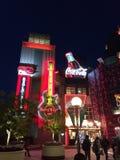 Night Light Osaka Kansai Japan Travel royalty free stock image