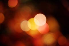 Night light colorful bokeh, abstract background Royalty Free Stock Photos