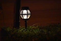 Night light. Garden light at night Royalty Free Stock Photos