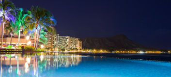 Night light Hawaii Stock Photography