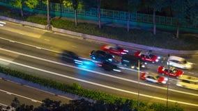 Night light hong kong traffic street road rooftop panorama 4k time lapse china. China night light hong kong city traffic street road rooftop panorama 4k time stock footage
