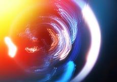 Night light traces long exposure background. Diagonal orientation vivid vibrant bright color rich composition design concept element object shape backdrop stock photo