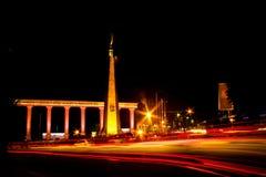 Night light tugukujang bogor panning lowexposure citylight landmark