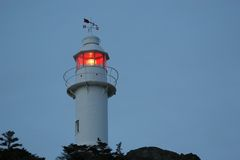 Night Lighthouse Royalty Free Stock Photo