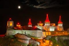 Night lighting castle Stock Photo