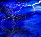 Night lightning Royalty Free Stock Photography